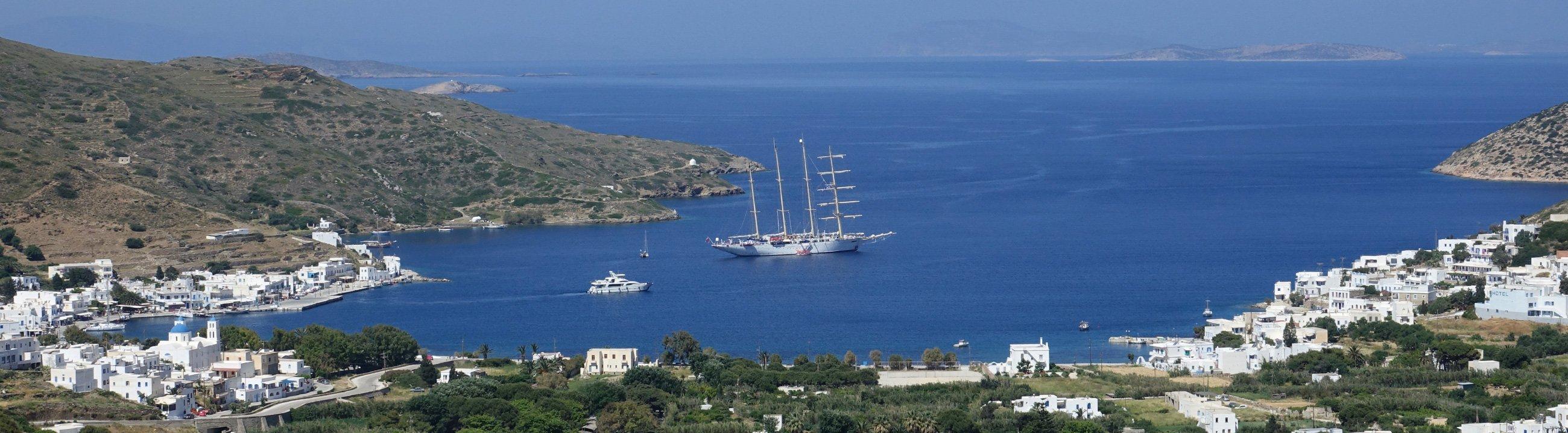 Ösliches Mittelmeer Star Flyer Amorgos