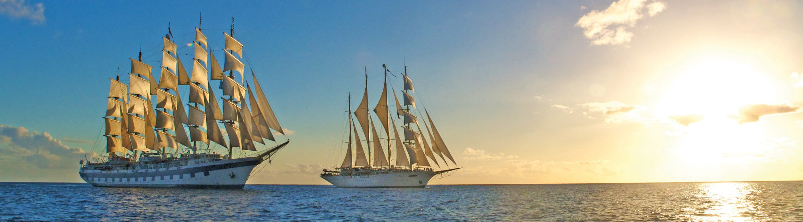 Royal Clipper und Star Clipper